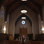 Inside the Stewart Memorial Chapel